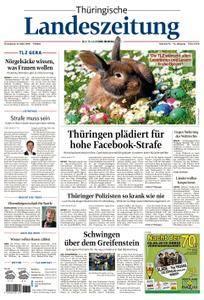 Thuringische Landeszeitung Gera - 31. März 2018