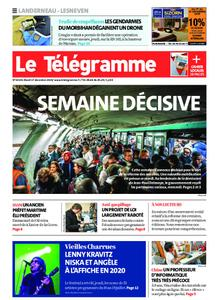 Le Télégramme Landerneau - Lesneven – 17 décembre 2019
