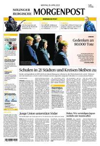 Solinger Morgenpost – 19. April 2021