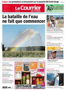 Le Courrier de l'Ouest Angers – 26 juillet 2019