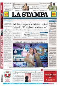 La Stampa Torino Provincia e Canavese - 28 Gennaio 2018