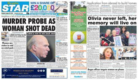 Shropshire Star Shrewsbury Edition – January 29, 2018