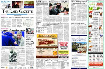 The Daily Gazette – February 18, 2018