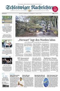 Schleswiger Nachrichten - 30. Oktober 2017