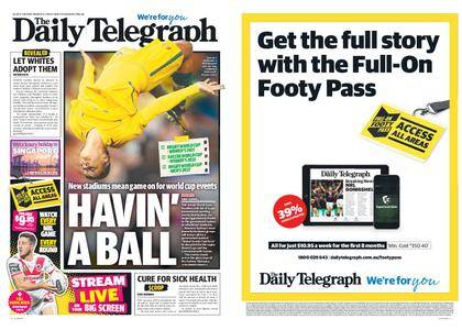 The Daily Telegraph (Sydney) – March 13, 2018