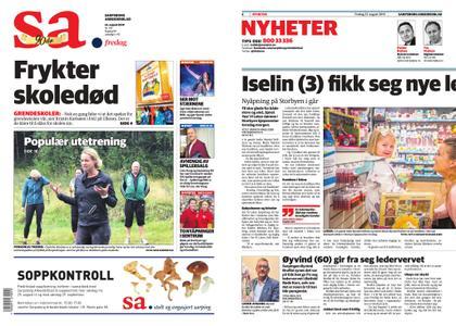Sarpsborg Arbeiderblad – 23. august 2019