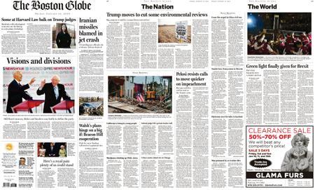 The Boston Globe – January 10, 2020