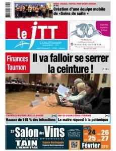 Le Journal Tournon Tain du Jeudi 9 Février 2017