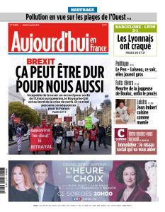 Aujourd'hui en France du Jeudi 14 Mars 2019