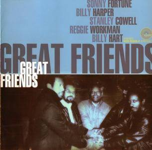 Sonny Fortune, Billy Harper, Stanley Cowell, Reggie Workman, Billy Hart - Great Friends {1986}