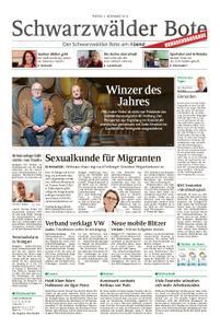 Schwarzwälder Bote Sulz - 02. November 2018