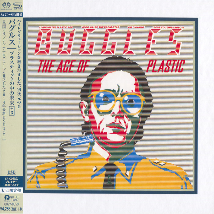 The Buggles The Age Of Plastic 1980 Japanese Shm Sacd