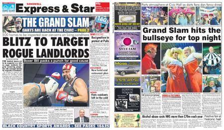 Express and Star Sandwell Edition – November 13, 2017