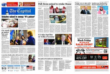 The Capital – November 02, 2018