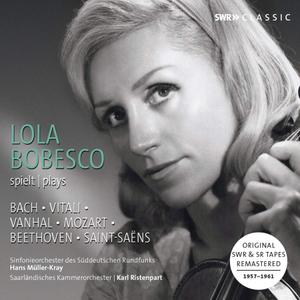 Lola Bobesco - Bach, Mozart, Beethoven & Others: Violin Concertos (2019)