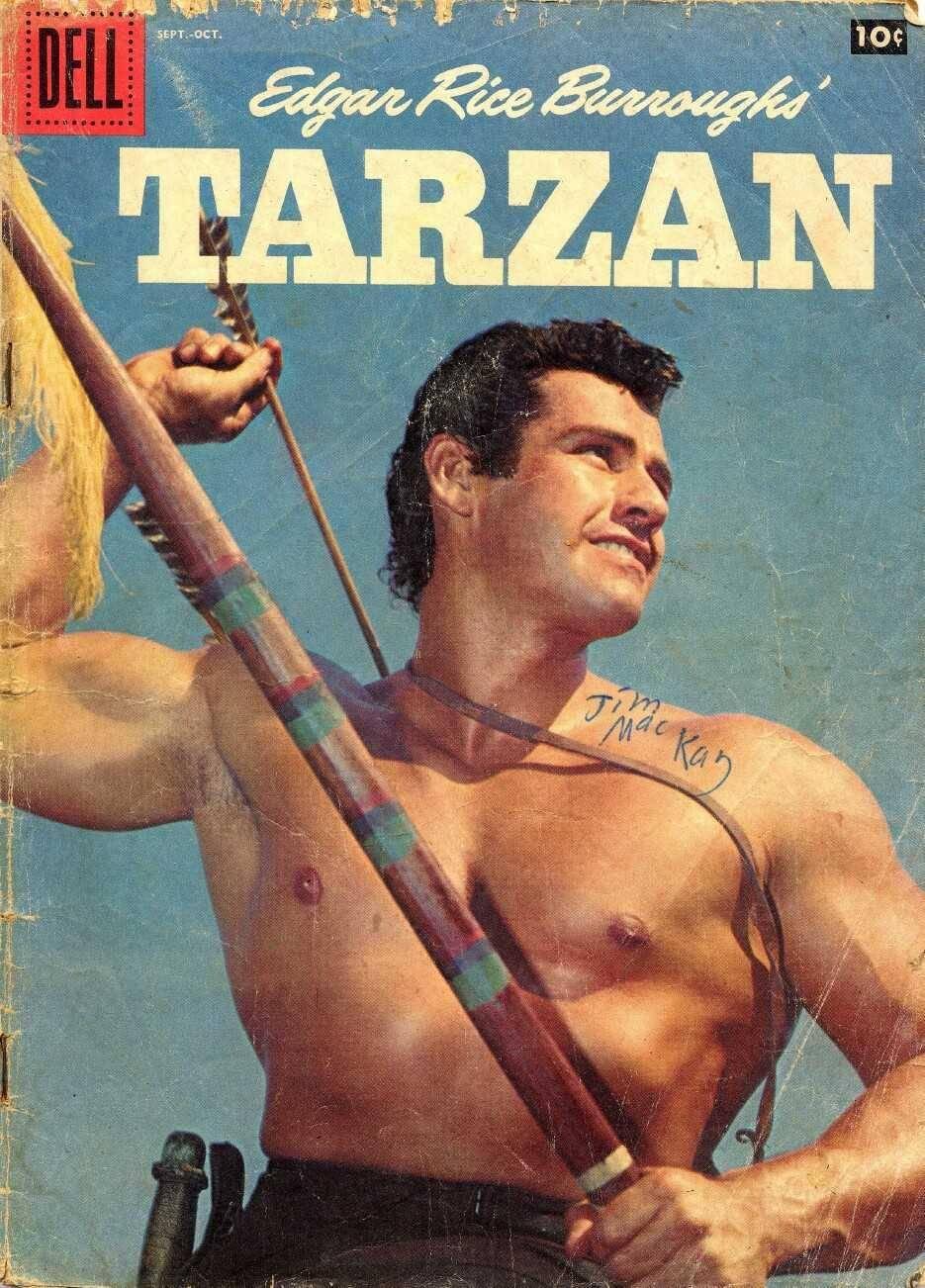 For tony - Tarzan Dell Gold Key - Tarzan 108 cbr