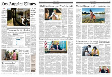 Los Angeles Times – July 21, 2020