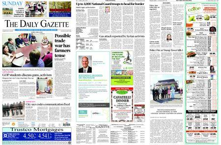 The Daily Gazette – April 08, 2018