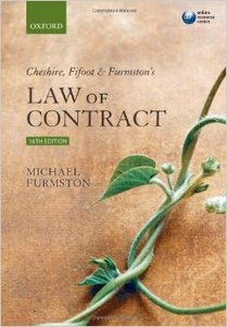heshire, Fifoot and Furmston's Law of Contract (16 edition) (repost)
