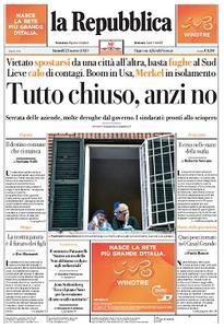 la Repubblica - 23 Marzo 2020