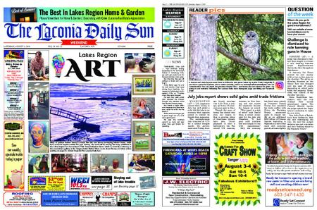 The Laconia Daily Sun – August 03, 2019