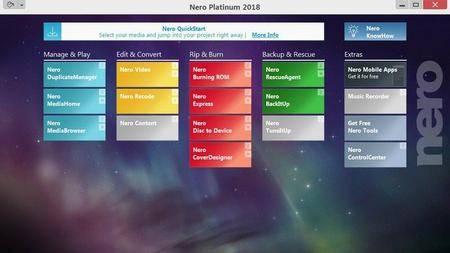 Nero Platinum 2018 Suite 19.0.07000 Multilingual