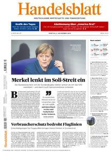 Handelsblatt - 05. November 2018