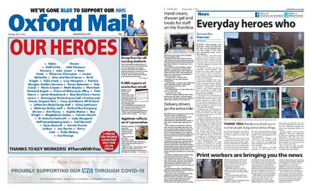 Oxford Mail – May 07, 2020