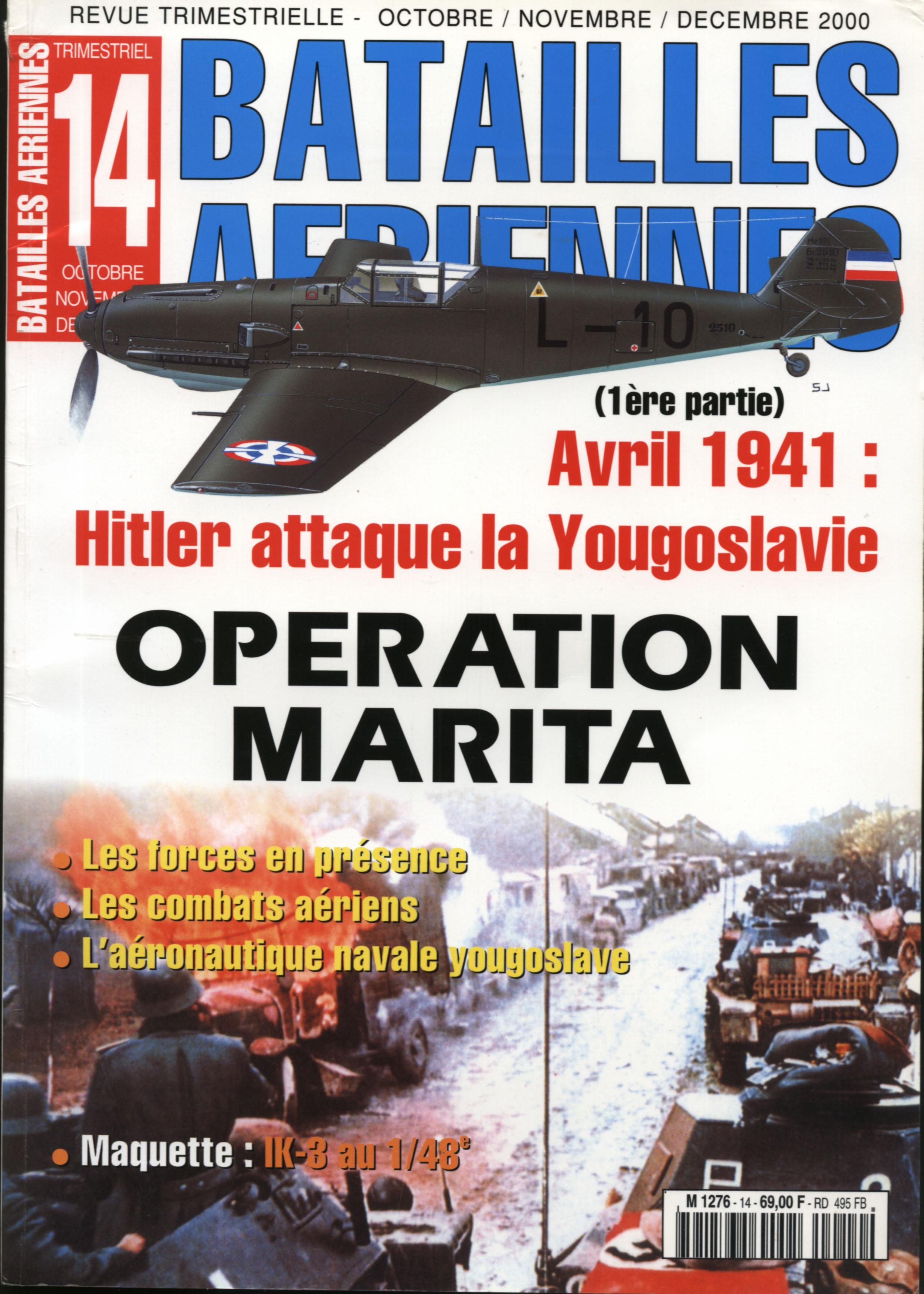 Batailles Aeriennes 14 - Operation Marita [2000]
