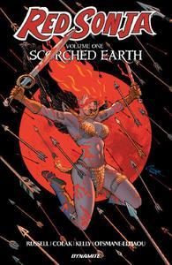 Dynamite-Red Sonja Vol 01 Scorched Earth 2019 Hybrid Comic eBook