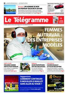Le Télégramme Landerneau - Lesneven – 08 mars 2021
