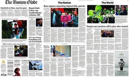 The Boston Globe – June 15, 2018