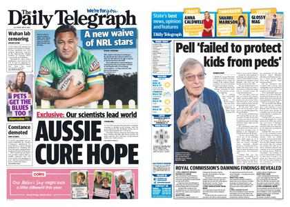 The Daily Telegraph (Sydney) – May 08, 2020