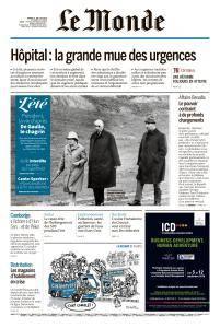 Le Monde du Mardi 31 Juillet 2018