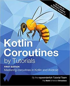 Kotlin Coroutines by Tutorials (First Edition)