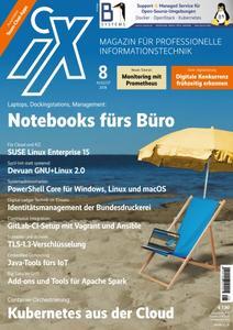iX Magazin - August 2018