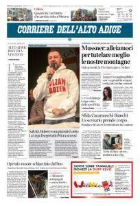 Corriere dell'Alto Adige - 31 Luglio 2018