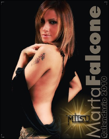 Marta Falcone - Official Calendar 2010