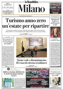 la Repubblica Milano - 27 Giugno 2020