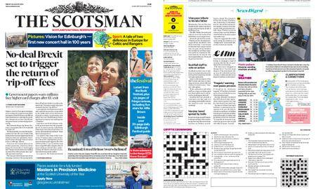 The Scotsman – August 24, 2018