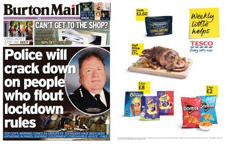 Burton Mail – March 27, 2020