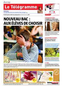 Le Télégramme Auray – 02 mai 2019