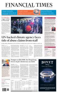 Financial Times USA - August 27, 2020