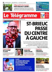 Le Télégramme Guingamp – 29 juin 2020