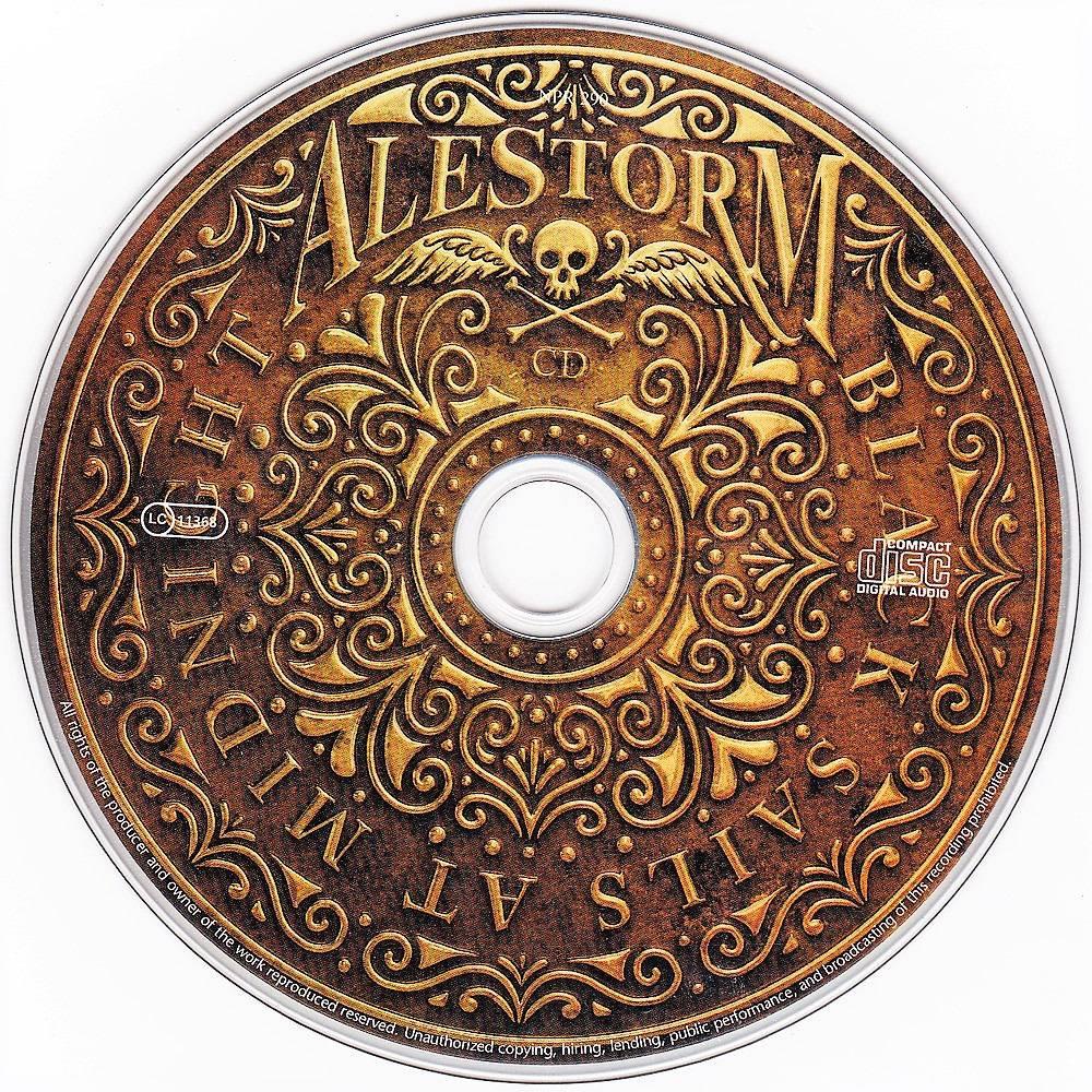 Alestorm - Black Sails At Midnight (2009) [Limited Ed.] CD+DVD