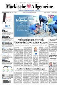 Neue Oranienburger Zeitung - 26. September 2018