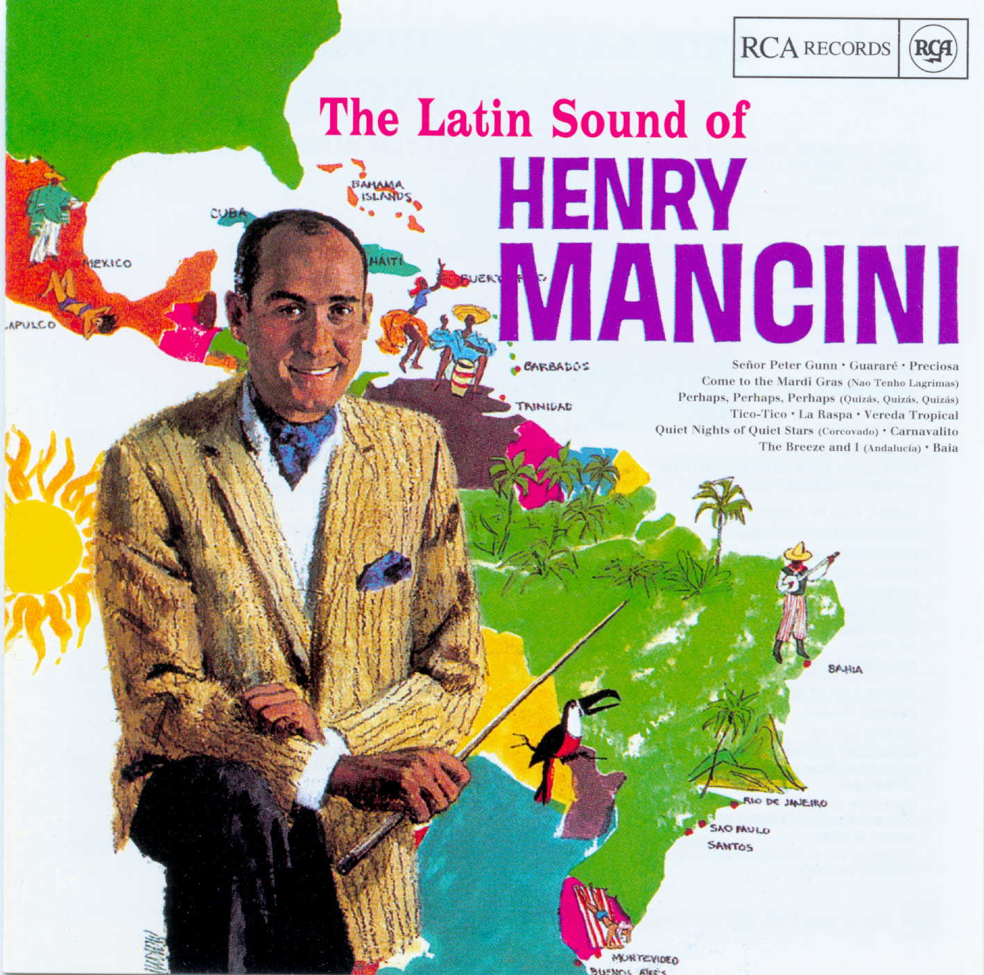 Henry Mancini - The Latin Sound Of....  1965  (1998)