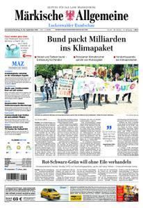 Märkische Allgemeine Luckenwalder Rundschau - 21. September 2019