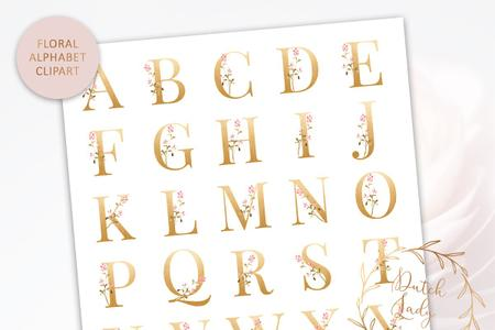 Alphabet and Number Clipart Set 1 - 3668860