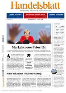 Handelsblatt - 23. August 2018